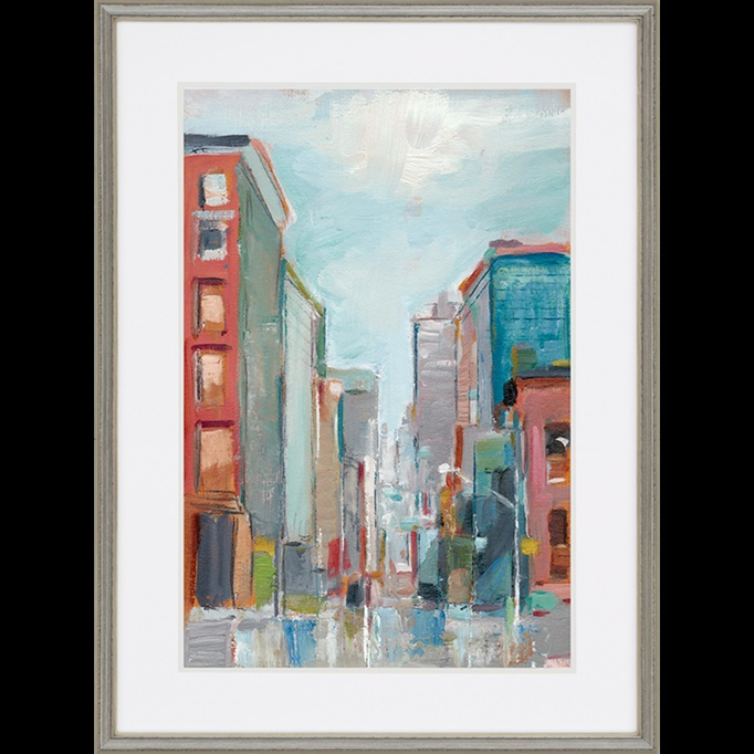 malanta knowles contemporary framed art downtown ii scenic