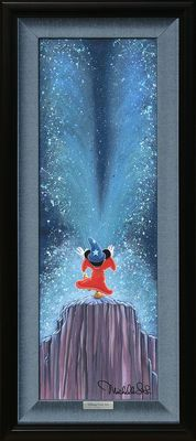 "Disney Framed Limited Edition Canvas Giclee:""Apprentice Magic"" by Michelle St.Laurent"