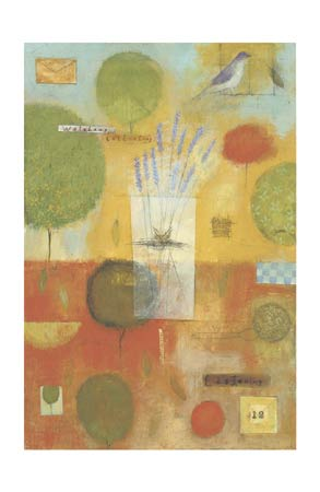 """Marti Somers Signed and Numbered Limited Edition Giclée on Somerset Velvet Paper:""""Watching Collecting"""""""
