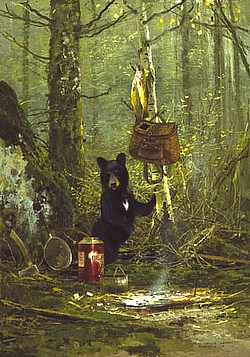 """Michael Coleman Handsigned & Numbered Giclee Limited Edition Print:""""Little Visitor"""""""
