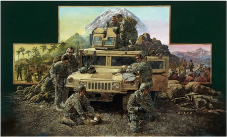 """James Dietz Hand-signed and Numbered Limited Edition Print:""""When America Called"""""""