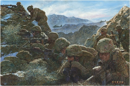 """James Dietz Hand-signed and Numbered Limited Edition Print:""""Climb to Glory"""""""