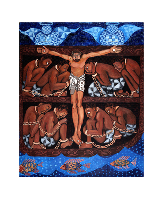 """Michele Wood Limited Edition Hand Titled & Signed Giclee Ed. 500:""""I See the Rhythm of a New World"""""""