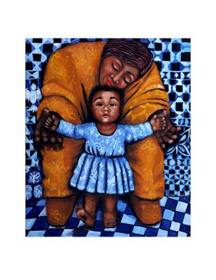 """Michele Wood Limited Edition Pencil Signed, Titled & Numbered Giclee Ed. 300:""""First Step"""""""