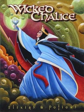 """Mike Kungl Handsigned and Numbered Limited Edition Giclee on hand textured Canvas:""""Wicked Chalice"""""""