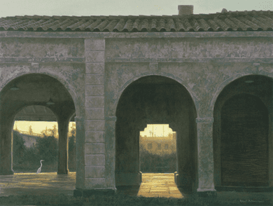 """Millpond Press Limited Edition Print: """"Hour of The Egret"""" by Robert Bateman"""