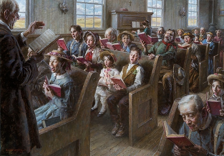 """Morgan Weistling Hand Signed and Numbered Fine Art  Giclee:""""The Prairie Church"""""""