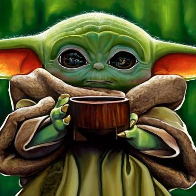 """Christian Waggoner Star Wars Limited Edition Canvas Giclee:""""Want Some Soup"""""""