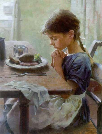 "Morgan Weistling Limited Edition Print: ""A Thankful Heart"""