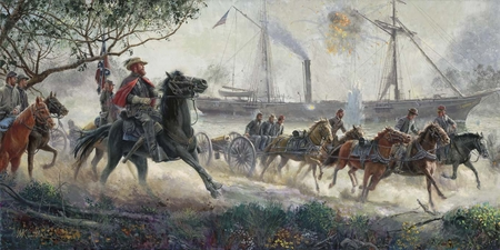 """Mort Künstler Hand Signed and Numbered Limited Edition Sesquicentennial Release Print:""""The Strangest Race"""""""