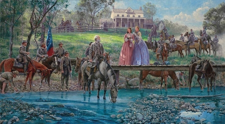 "Mort Künstler Handsigned and Numbered Limited Edition Artist Proof Print: ""The Autograph Seekers of Bel Air"""