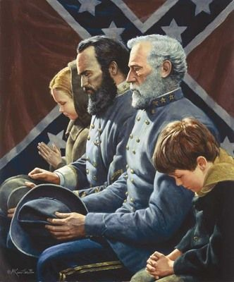 "Mort Kunstler Handsigned and Numbered 2010 Masterpiece Collection Giclee on Canvas:""The Generals Were Brought to Tears"""