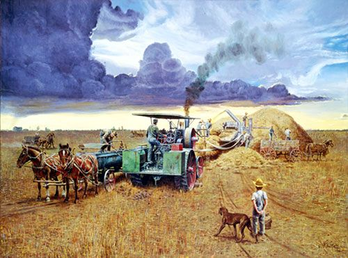 """Mort Kunstler Handsigned and Numbered Limited Edition Print:""""Beating the Storm"""""""