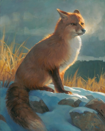 """Nancy Glazier Hand Signed and Numbered Limited Edition Giclee on Paper and Canvas: """"Backlit Beauty """""""