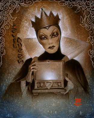 """Noah Artist Signed Limited Edition Giclee on Hand-Textured Canvas: """"Behold Her Heart """""""