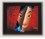 Disney Silver Edition Framed Canvas Collection
