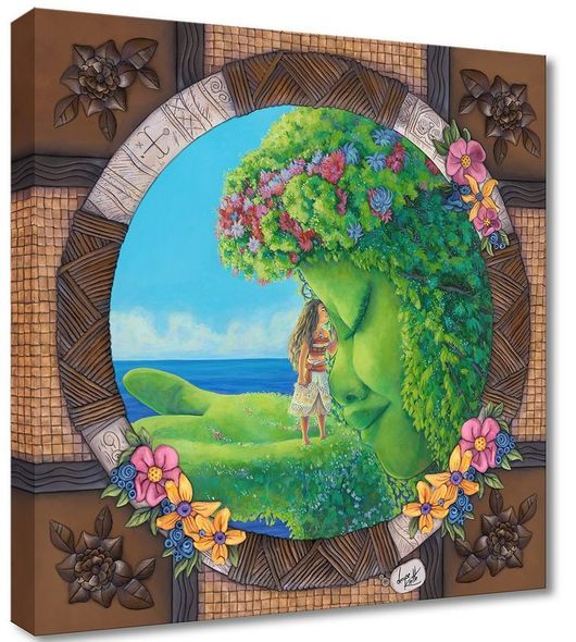 """Denyse Klette  Ltd Ed  Gallery Wrap Canvas Giclee:""""Te Fiti"""""""