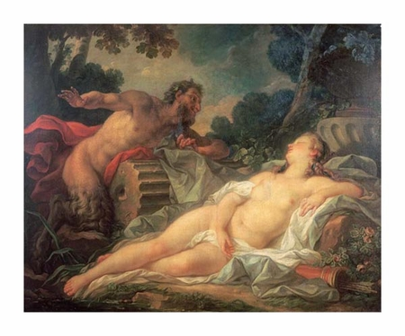 "Noel Nicolas Coypel Fine Art Open Edition Giclée:""Jupiter and Antiope"""