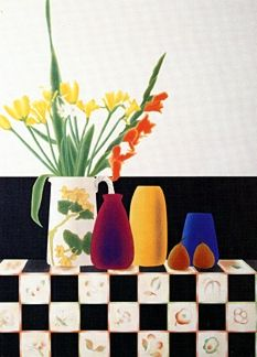 """Osborne Handsigned and Numbered Limited Edition :Serigraph on Paper:""""Rookwood Still Life II"""""""