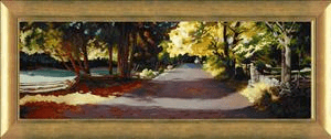 "Patrice Procopio Canvas Limited Edition Canvas:""Ephraim Country Road"""