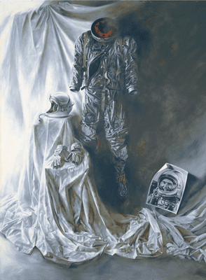 """Paul Calle Handsigned & Numbered Limited Edition Print:""""Knights Armor - End of the Beginning"""""""