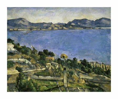 "Paul Cezanne Fine Art Open Edition Giclée:""L'Estaque"""