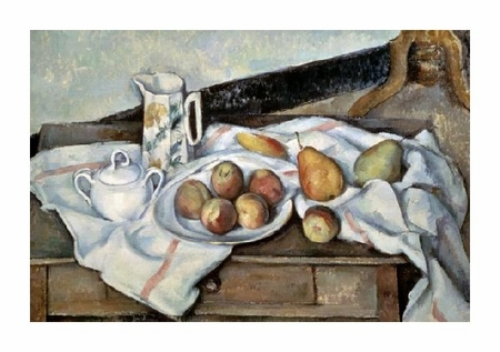 "Paul Cezanne Fine Art Open Edition Giclée:""Peaches & Pears"""