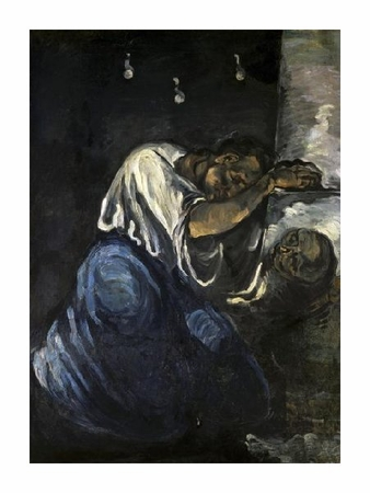 "Paul Cezanne Fine Art Open Edition Giclée:""The Magdalen or Sorrow"""