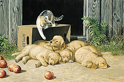 """Persis C. Weirs Limited Edition Print:""""The Wakeup Call"""""""