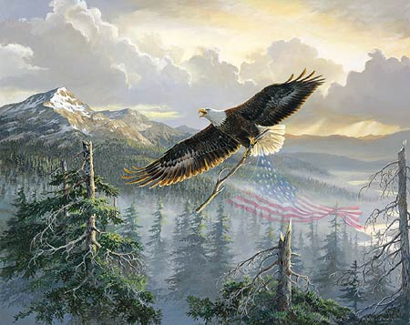 "Persis Clayton Weirs Handsigned & Numbered Limited Edition Print:"" Rebuilding America"""