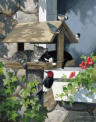 """Persis Clayton Weirs Limited Edition Print: """"Do Not Disturb"""""""
