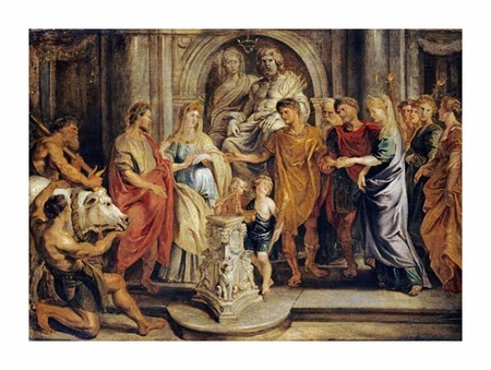 "Peter Paul Reubens Fine Art Open Edition Giclée:""The Marriages of Constantine and Fausta"""