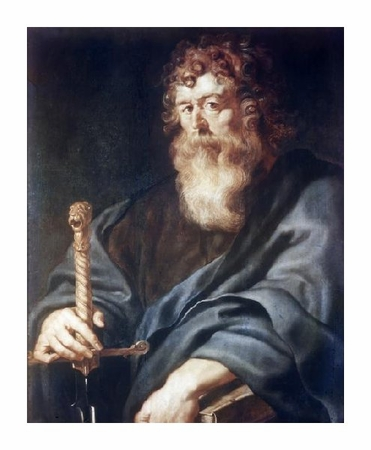 "Peter Paul Rubens Fine Art Open Edition Giclée:""Paul"""