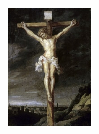 "Peter Paul Rubens Fine Art Open Edition Giclée:""The Crucified"""