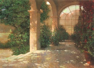 """Philip Craig Hand Signed and Numbered Limited Edition Print """"Palladian Sunroom"""""""