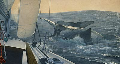 "Randall Scott Limited Edition Print:""Voyagers"""