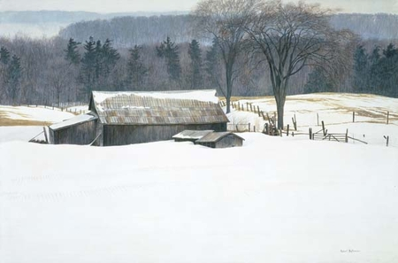 "Robert Bateman Hand-Signed and Numbered Limited Edition Print  and Canvas Giclee:""Along Walker's Line"""