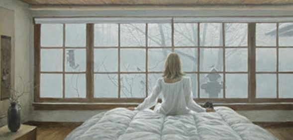 """Robert Bateman Hand Signed And Numbered Limited Edition Print and Canvas Giclee :""""Birdwatching"""""""