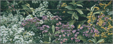 "Robert Bateman Hand Signed And Numbered Limited Edition Renaissance Collection Canvas Giclee:""Roadside Tapestry """