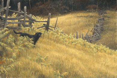"""Robert Bateman Handsigned and Numbered Limited Edition Canvas Giclee:""""SmallWood"""""""