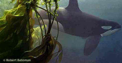 """Robert Bateman Handsigned and Numbered Limited Edition Print: """"Ocean Rhapsody"""""""