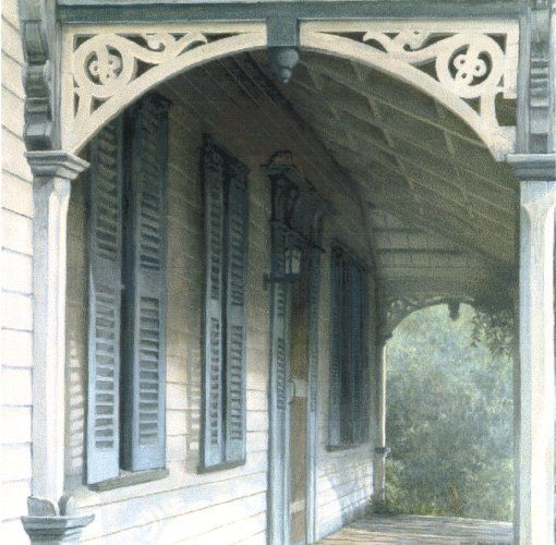 "Robert Bateman Limited Edition Giclee Canvas""Lucas Porch"""