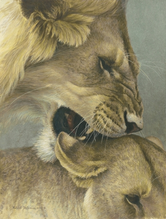 "Robert Bateman Limited Edition Print:""The Mating Game"""