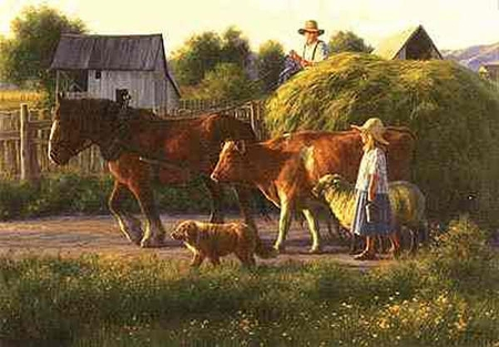 """Robert Duncan Limited Edition Print: """"The Passing Parade"""""""