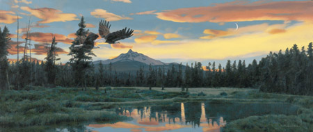 """Rod Frederick Limited Edition Print:""""Distant Horizons """""""