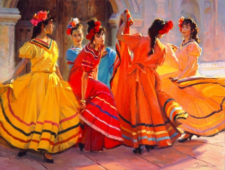 """Ron Riddick Limited Edition Print:""""Prelude To The Dance"""""""