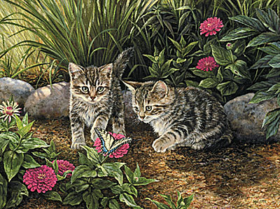 """Rosemary Millette Limited Edition Print:"""" Double Trouble """""""