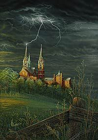 Feel the Power Holy Hill Framed Limited Edition Print by Sam Timm