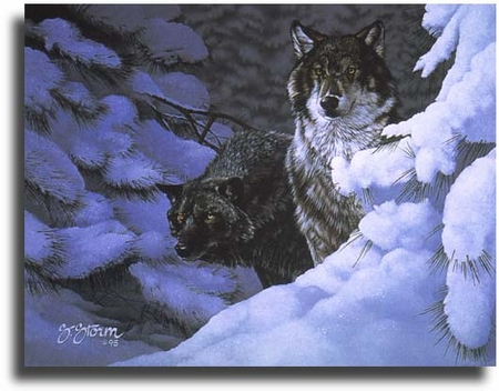 """Scot Storm Limited Edition Giclee on Paper:""""Majestic Moment"""""""