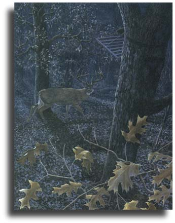 "Scot Storm Limited Edition Giclee on Paper:""Nocturnal Giant"""